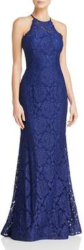 Aqua Illusion Lace Gown - 100% Exclusive