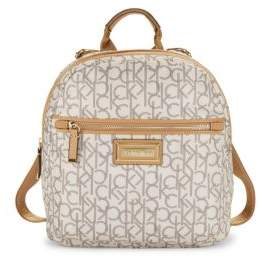 Calvin Klein Logo Monogrammed Mini Backpack