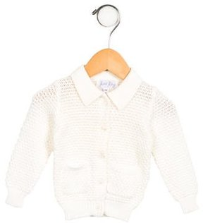 Rachel Riley Girls' Knit Button-Up Cardigan