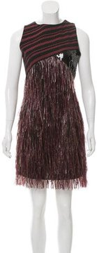 Rodarte Sleeveless Fringe Dress