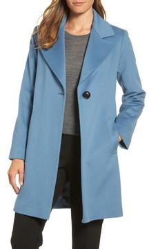 Fleurette Women's Single Button Wool Coat