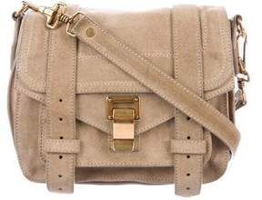 Proenza Schouler Mini PS1 Suede Crossbody Bag