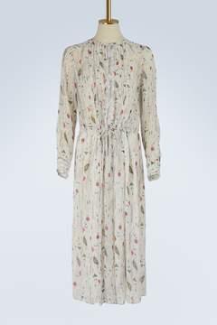 Etoile Isabel Marant Silk Baphir dress