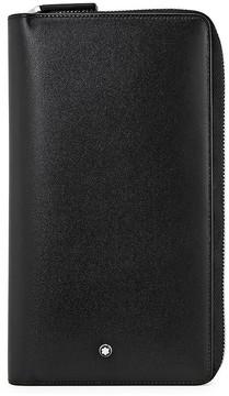 Montblanc Meisterstuck Leather Travel Wallet - Black
