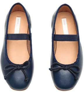 H&M Leather Ballet Flats