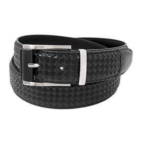 Stacy Adams Diamond Embossed Belt