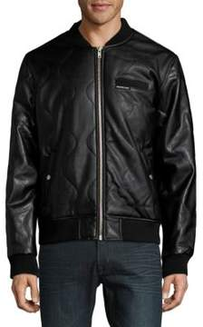 Members Only Patterned Bomber Jacket