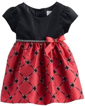 Youngland Baby Girl Beaded Dress