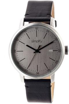 Simplify The 2500 Collection SIM2501 Men's Watch with Leather Strap