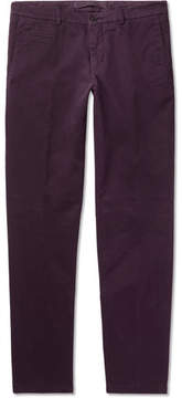 Altea Milano Stretch-Cotton Gabardine Chinos