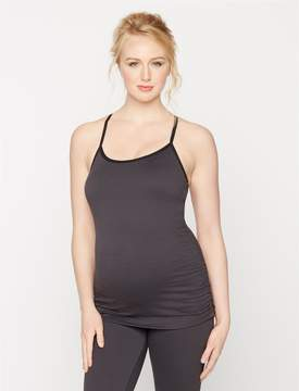 A Pea in the Pod Beyond The Bump Cross Back Maternity Tank Top