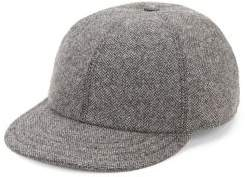 Hickey Freeman Wool Herringbone Baseball Cap