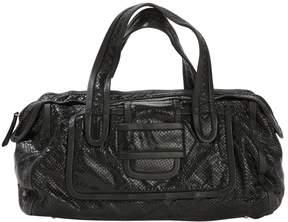 Pierre Hardy Black Patent leather Handbag