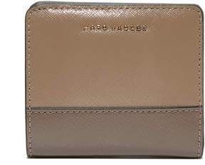 Marc Jacobs Open Face Billfold - BLACK/BERRY - STYLE