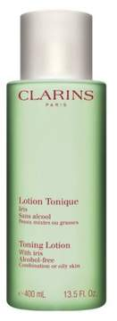 Clarins Toning Lotion With Iris For Combination To Oily Skin - 13.5 oz.