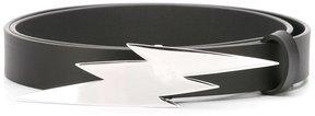DSQUARED2 Tiger Flash buckle belt