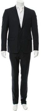 Calvin Klein Collection Wool Two-Button Suit w/ Tags