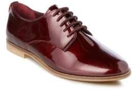 Dune London Flossy Round Toe Lace-Up Shoes