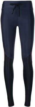 The Upside bicolour drawstring leggings