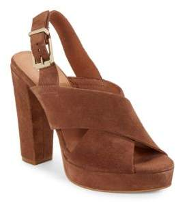 Kenneth Cole Lola Open Toe Ankle Buckle Sandals