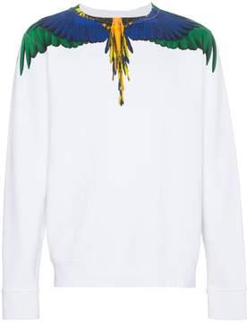 Marcelo Burlon County of Milan Wings crew neck sweatshirt