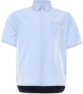 Prada Linea Rossa Techno Nylon Shirt