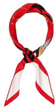 Hermes Tout en Carré Silk Bandana