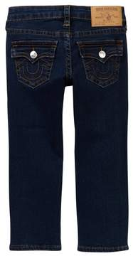 True Religion Slim Straight Leg Jean (Toddler & Little Boys)