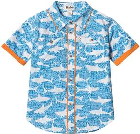 Hatley Blue Shark Alley Shirt