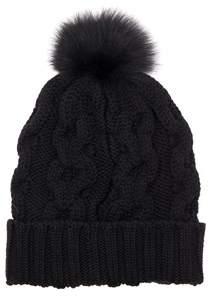 Woolrich Women's Black Wool Hat.