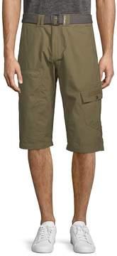 ProjekRaw PROJEK RAW Men's Belted Cotton Shorts
