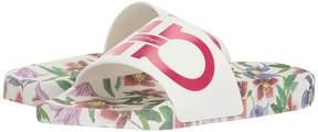 Salvatore Ferragamo PVC Pool Slide Women's Slide Shoes