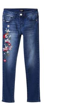 Bebe Embroidered Jeans (Big Girls)