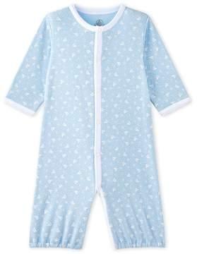 Petit Bateau BABYS UNISEX 2-IN-1 1-PIECE SLEEP SACK