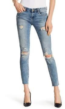 Blank NYC BLANKNYC Distressed Raw Edge Skinny Jeans