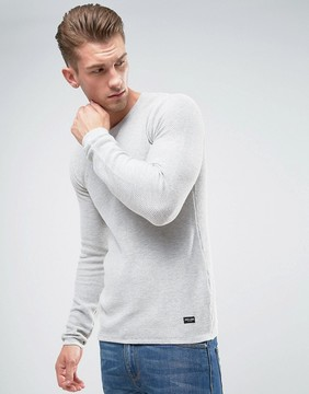 ONLY & SONS Knitted Sweater In Textured Knit
