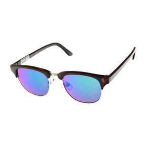 Arizona Half Frame Rectangular Sunglasses-Mens