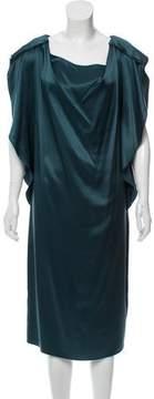 Aquilano Rimondi Aquilano.Rimondi Silk Midi Dress