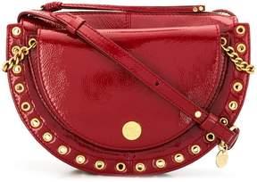 See by Chloe grommet-embellished shoulder bag