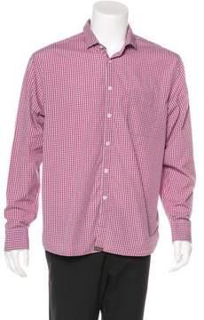 Billy Reid Plaid Woven Shirt