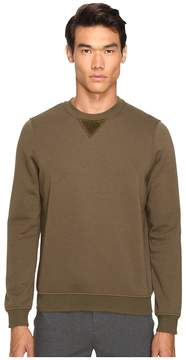ATM Anthony Thomas Melillo Crew Neck Sweatshirt w/ Elbow Patches Men's Sweatshirt