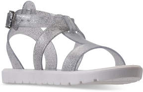 Nine West Little Girls' Heyleigh Gladiator Jelly Sandals from Finish Line
