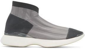 Acne Studios Grey Tristan Low Sneakers