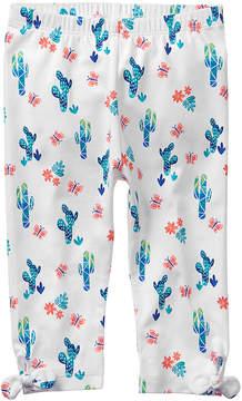 Gymboree Turquoise Cactus Leggings - Newborn & Infant