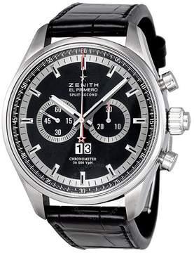 Zenith El Primero Split Second Black Dial Automatic Chronograph Men's Watch 032050402691C714