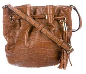 MICHAEL Michael Kors Embossed Leather Bucket Bag