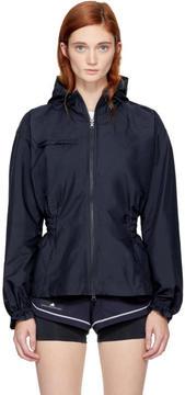adidas by Stella McCartney Navy Hooded Running Jacket