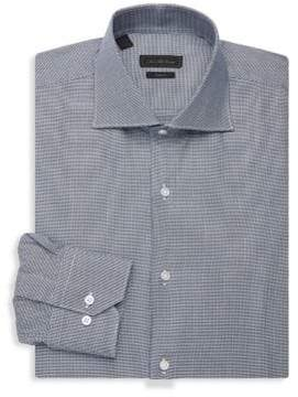 Saks Fifth Avenue COLLECTION Printed Dress Shirt