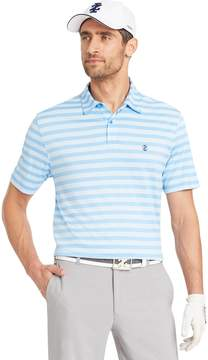 Izod Men's Ace Classic-Fit Striped Performance Golf Polo
