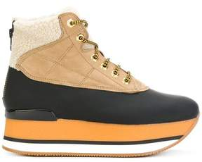Hogan platform boots